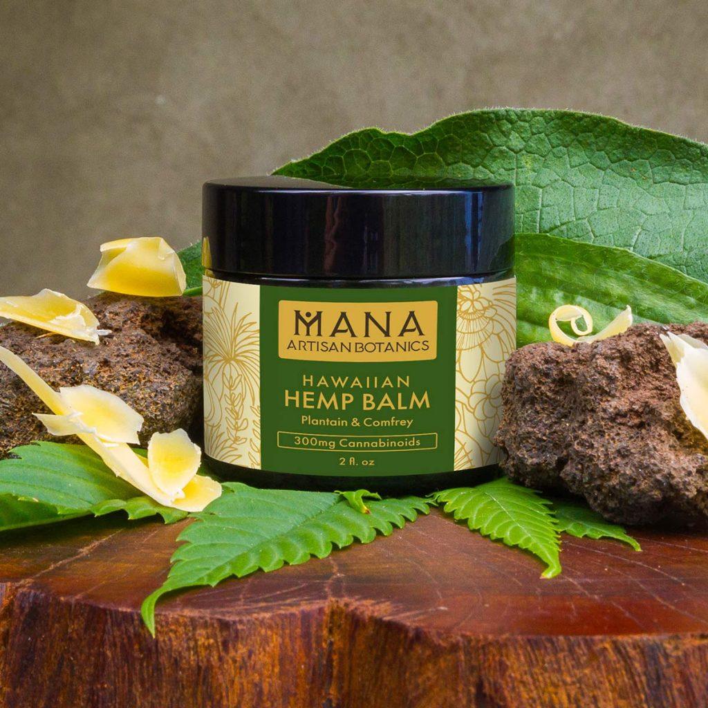 Hawaiian CBD Balsamo: Plantain & Comfrey