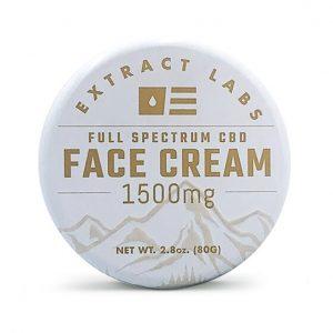 Crema facial CBD extract labs