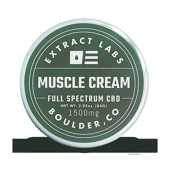 Crema muscular CBD